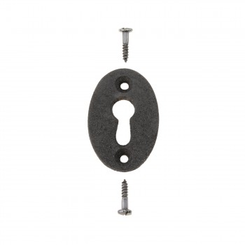 <PRE>Black Iron Keyhole Cover Escutcheon Replacement 1-3/4inch H 4 Pack</PRE>zoom3