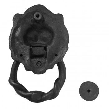 <PRE>Door Knocker Black Cast Iron Lion Rustproof Finish 6 in. H Set of 2</PRE>zoom5