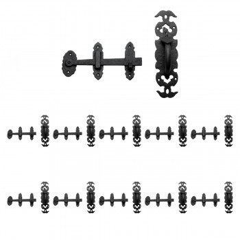 <PRE>Wrought Iron Colonial Style Door Latch Lock Set Of 10</PRE>zoom1
