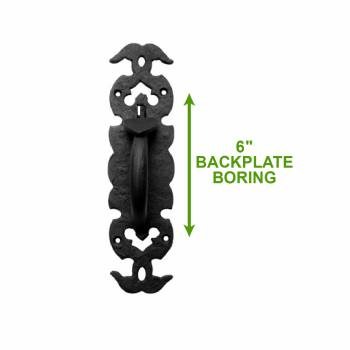 spec-<PRE>Wrought Iron Colonial Style Door Latch Lock Set Of 10</PRE>