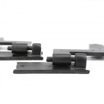 Pair Shutter Hinge Wrought Iron 6