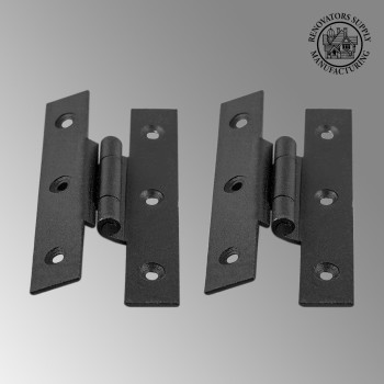 <PRE>Cast Iron Cabinet H Hinge Style 3 1/2inch H 3/8&quot; Offset Set of 2</PRE>zoom2