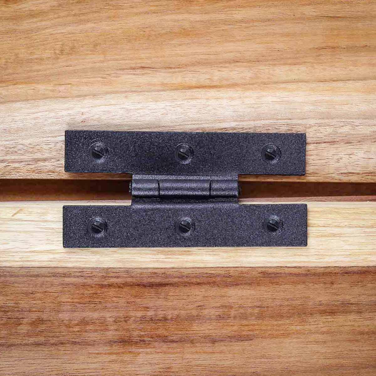 Cast Iron Cabinet H Hinge Style 3 12 H 38 Offset Set of 2 Door Hinges Door Hinge Solid Brass Hinge
