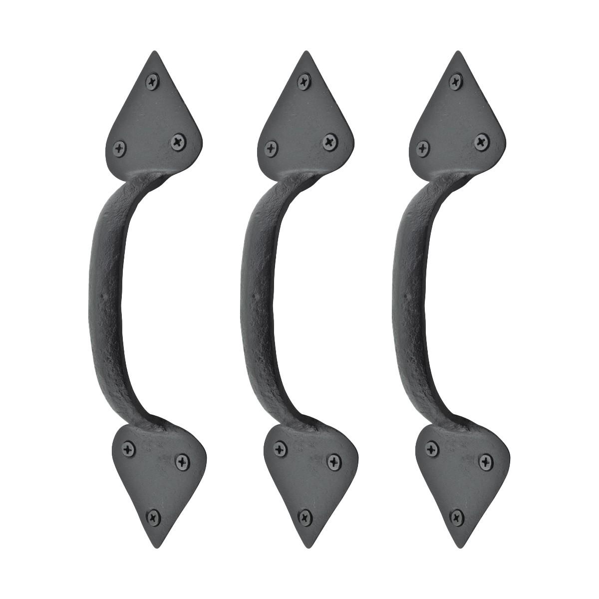 Wrought Iron Door Handles Black Drawer Pull