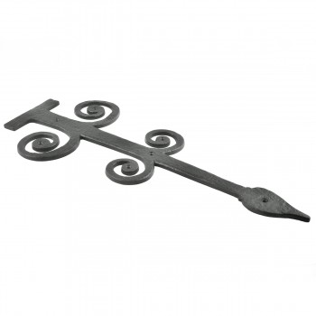 <PRE>2 Decorative Heavy Iron Door Strap Hinge Spade 16inch Long </PRE>zoom6