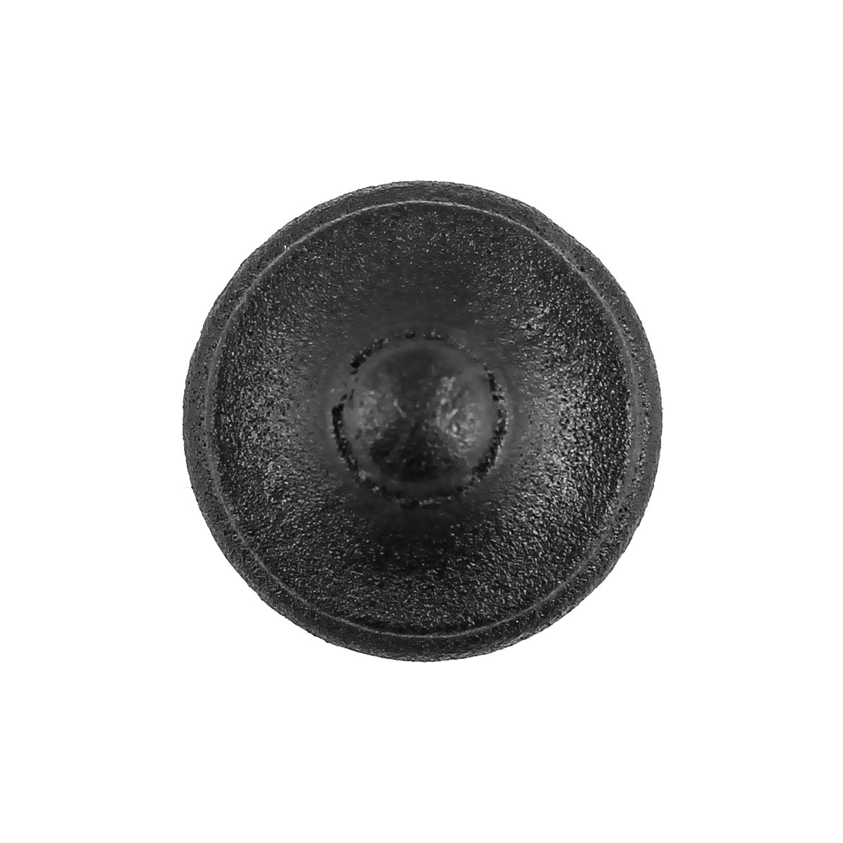 Round Kitchen Cabinet Knobs Set of 10 Cast Iron 1 Diameter Cabinetry Pulls Small Black Cabinet Knob Kitchen Remodel Cabinetry Hardware pull handles Cabinet Knob