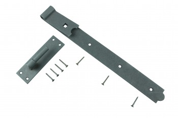4 Pack Door Gate Strap 34 Offset Hinge Black Wrought Iron 19 | Renovators S Door Hinges Door Hinge
