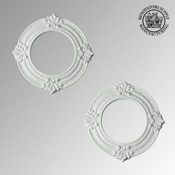 <PRE>2 Spotlight Rings White Urethane 4inch ID Set of 2 </PRE>zoom2
