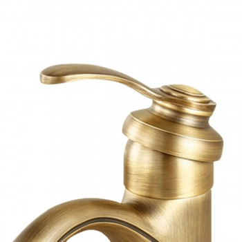 <PRE>Bathroom Single Hole Sink Faucet Antique Brass</PRE>