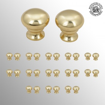 spec-<PRE>13 Pairs Stair Carpet Rod Ball Finial Brass Decorative Tip </PRE>