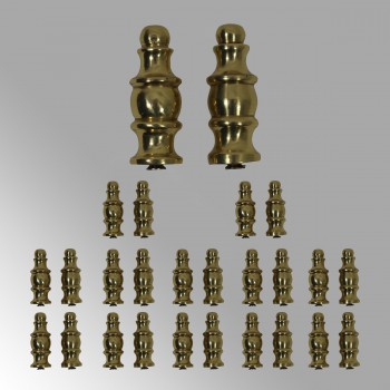 <PRE>13 Pairs Stair Carpet Rod Scepter Finial Brass Decorative Tip</PRE>zoom2