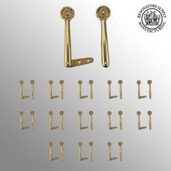<PRE>Carpet Runner Stair Holder Clips Solid Brass 13 Pairs</PRE>zoom2