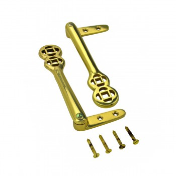 Carpet Clip Stair Holder Solid Brass Pair of 13 Carpet Rod Carpet Holder Rod Stair Rod