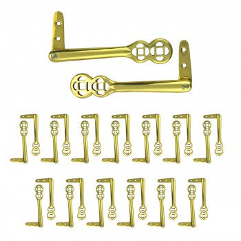 Carpet Clip Stair Holder Solid Brass Pair of 1327290grid