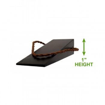 spec-<PRE>2 Black Door Wedge Solid Mango Wood Leather Hanging Loop | Renovators Supply</PRE>