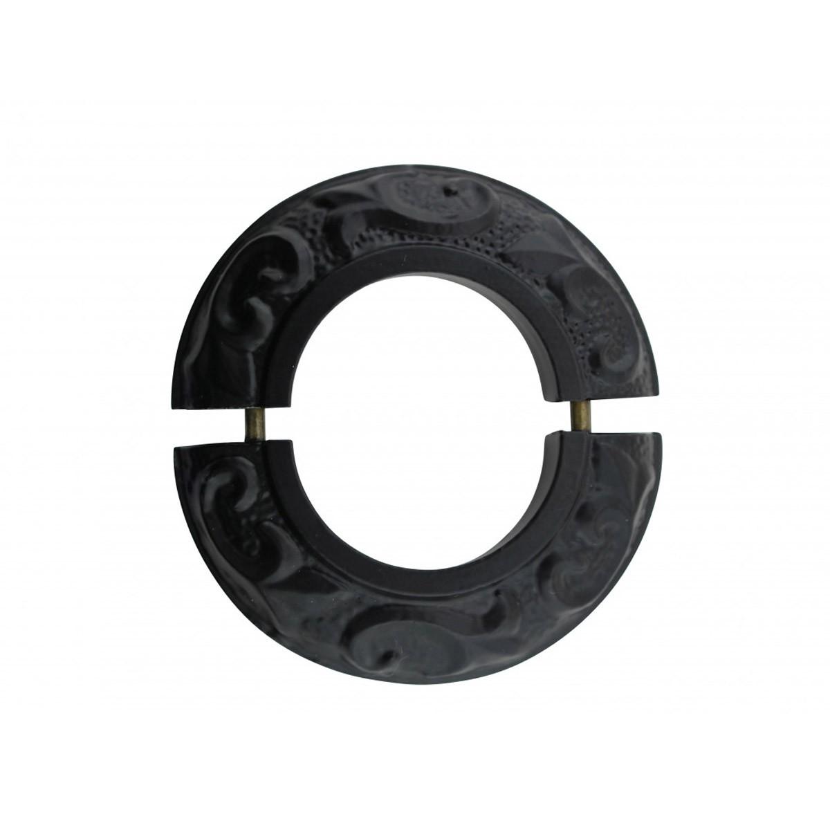 6 Radiator Flanges Fleur De Lis Black Aluminum Radiator Flanges Radiator Flange Radiator Pipe Collar