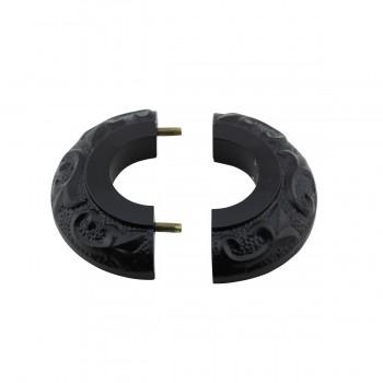 <PRE>6 Radiator Flange Black Aluminum Escutcheon 1 1/4'' ID </PRE>zoom4