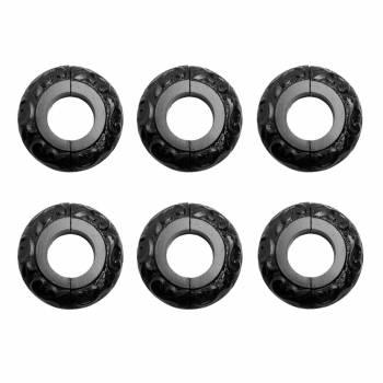 6 Radiator Flange Black Aluminum Escutcheon 1 14 ID