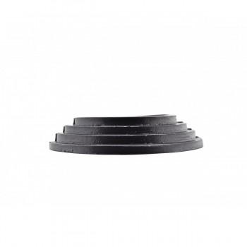 6 Radiator Flange Black Aluminum Escutcheon 1 1116 ID Radiator Flange Radiator Flanges Radiator Collar