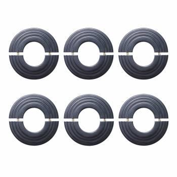 6 Radiator Flange Black Aluminum Escutcheon 1 11/16'' ID 27434grid