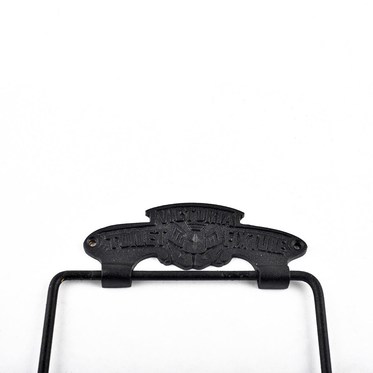 Toilet Paper Holder Black Aluminium Victoria Tissue Holder Pack of 2 TP Holder TP Holders Toilet Paper Holder