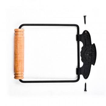 <PRE>Toilet Paper Holder Black Aluminium Victoria Tissue Holder Pack of 2</PRE>zoom3