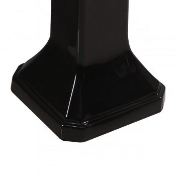 <PRE>Large Victorian Pedestal Sink Black Pedestal  Only</PRE>zoom3