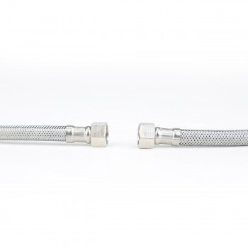 Bathroom Faucet Supply Line Stainless 10mm Male 38 Female Pack of 2 Supply Line Supply Lines Bathroom Supply Line