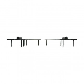 <PRE>Pair Flush H-L Cabinet Hinge Wrought Iron 4.5inchH Pack of 2 </PRE>zoom6