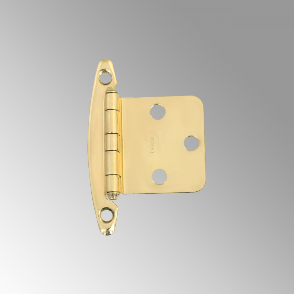 Cabinet Hinge Semi Concealed Solid Brass 1 75 Quot W