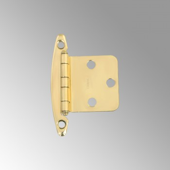 Cabinet Hinge Semiconcealed Solid Brass 1.75 W Door Hinges Door Hinge Solid Brass Hinge