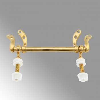 <PRE>Gold PVD Brass Toilet Seat Hinge Replacement Hinge </PRE>zoom1