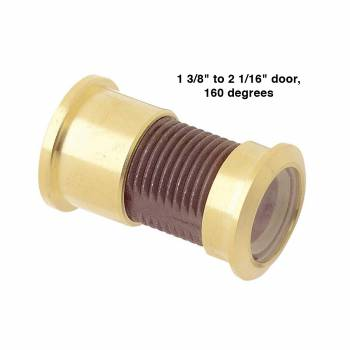 "spec-<PRE>5 Door Viewer Brass 160 degree 2 1/16""L Set of 5</PRE>"