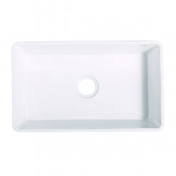 <PRE>30inch Large White Kitchen Farmhouse Sink Grade A Vitreous China Gloss Finish</PRE>zoom6