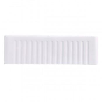 <PRE>33inch X 10&quot; Large White Porcelain Kitchen Farmhouse Sink Double Basin Gloss</PRE>zoom6