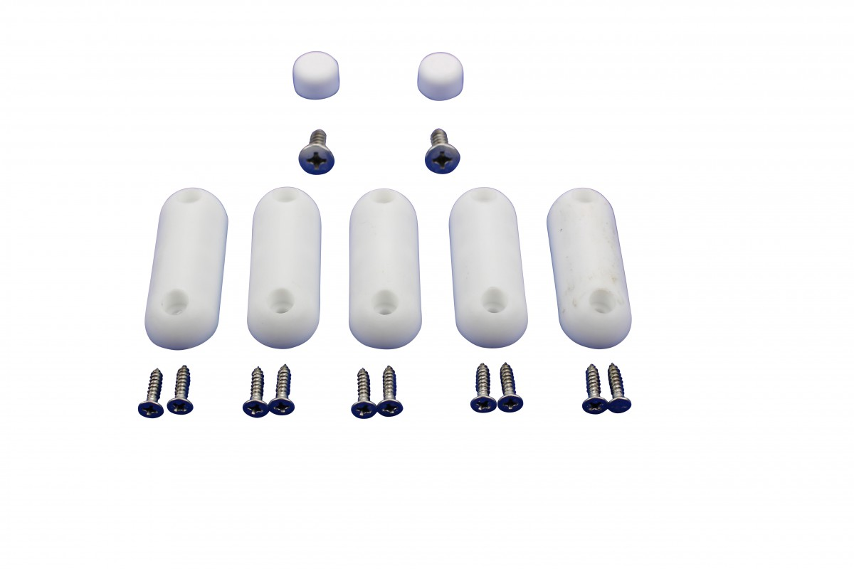 Toilet Seat Bumpers White Silicon Pack Of 7 Seat Bumpers Toilet Seat Replacement Bumper Toilet Seat Bumper