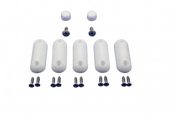 <PRE>Toilet Seat Bumpers White Silicon Pack Of 7</PRE>zoom4