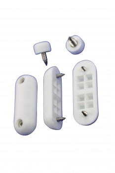 <PRE>Toilet Seat Bumpers White Silicon Pack Of 7</PRE>zoom7
