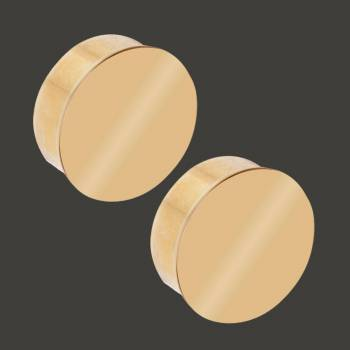 <PRE>Flush End Plug Solid Brass Simple Fitting 1.5inch OD Pack of 2 </PRE>zoom2