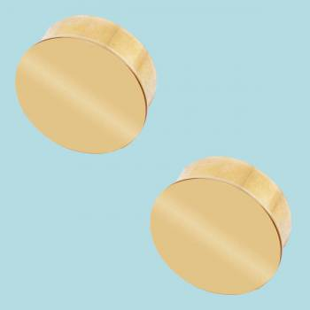 <PRE>2 Flat End Caps for 2inch Dia Tube Solid Polished Brass Set of 2 </PRE>zoom2