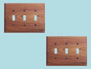 <PRE>2 Switchplate Walnut Triple Toggle </PRE>zoom2