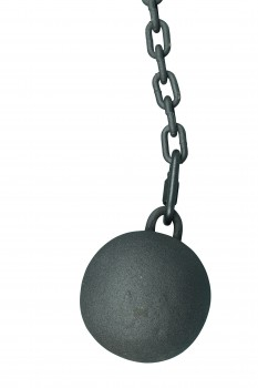 <PRE>2 Gate Latch Cast Iron Cannonball & 5 Feet Chain </PRE>zoom4