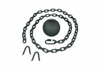 <PRE>2 Gate Latch Cast Iron Cannonball & 5 Feet Chain </PRE>zoom7