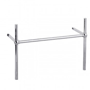 Sink Parts - Chrome Bistro Legs Frame Belle Epoque Double by the Renovator's Supply