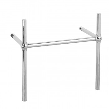 <PRE>Bathroom Sink Part Chrome Bistro Belle Leg Frame Wall Mount </PRE>zoom1