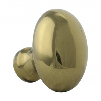 <PRE>Solid Brass Oval Polished Cabinet Knob Set of 6 1-1/4inch </PRE>zoom4