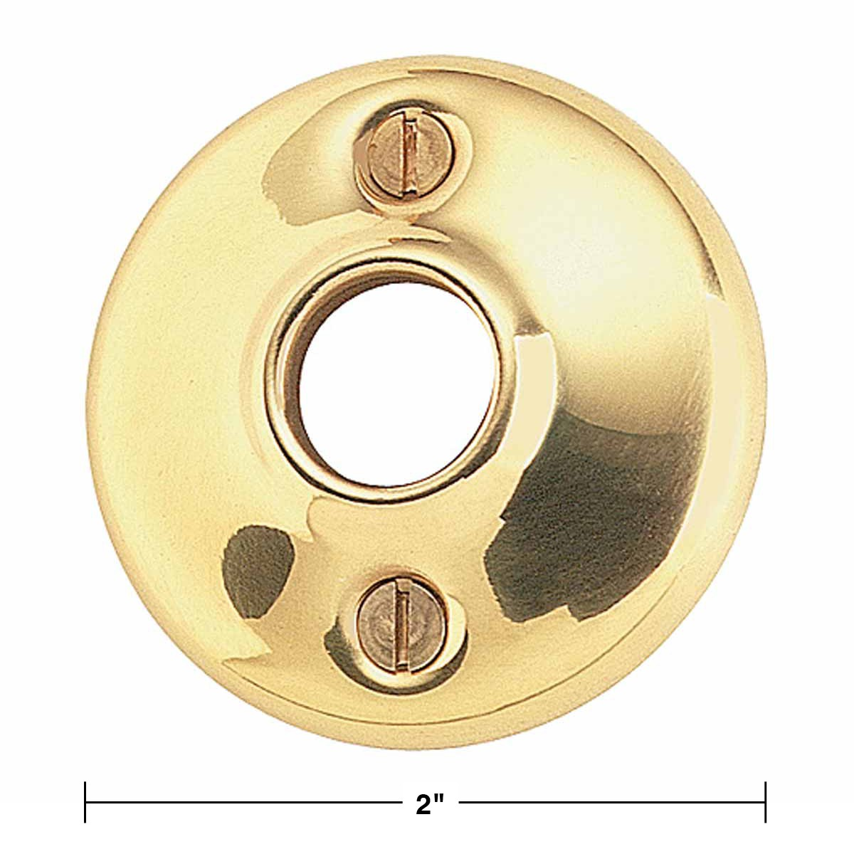 Spec U003cPREu003e4 Pairs Colonial Door Rosettes Solid Brass Passage Knob ...