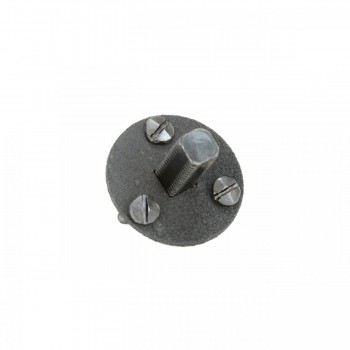 <PRE>6 1 3/8inch Standard Threaded Steel Dummy Doorknob Spindle </PRE>zoom7