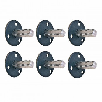 6 1 38 Standard Threaded Steel Dummy Doorknob Spindle