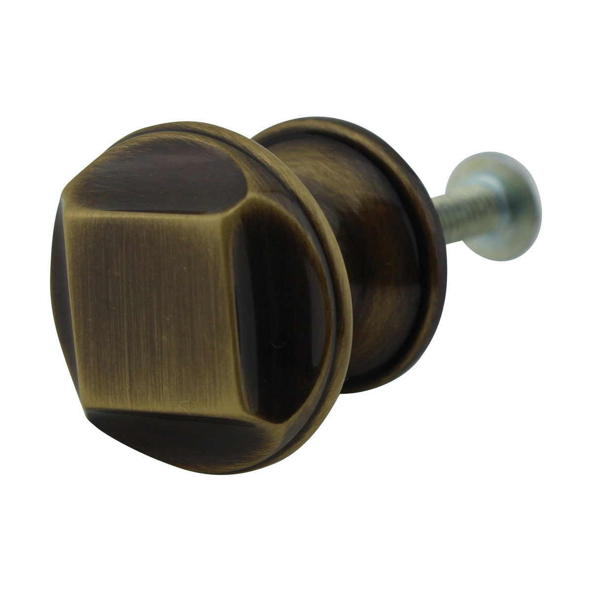 6 Cabinet Knob Antique Solid Brass 1 Dia Cabinet Hardware Cabinet Knobs Cabinet Knob
